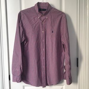 Men's Ralph Lauren button up shirt
